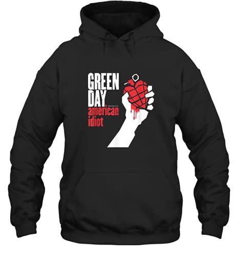 Kiristyle Green Day American Idiot Unisex Hoodie Men Women for dad him Son Daughter Birthday Shirt