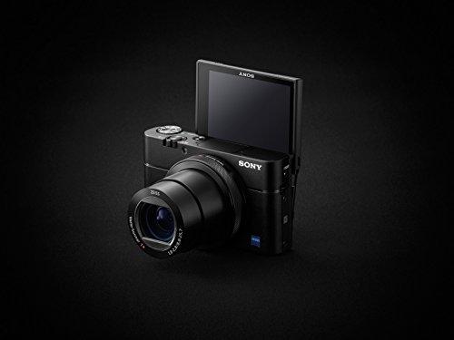 Sony DSC-RX100 V Digitalkamera (Stacked Exmor RS CMOS Sensor, 40-Fach Super-Zeitlupe, Anti-Distortion Verschluss, 24-70 mm zeiss Vario-Sonnar T) [Altes Modell]