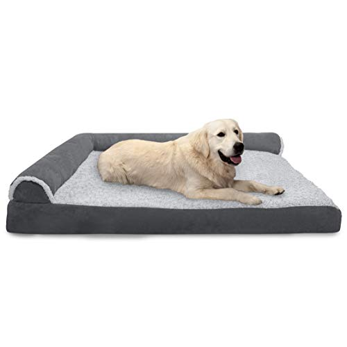 Furhaven Corner Couch Dog Bed