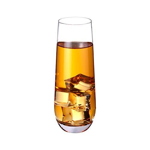 Umi. by Amazon - Set von 6 Gläser für Wein Wasser Trinken Hochball 300ml(10.5oz)