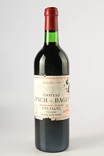 CHÂTEAU LYNCH BAGES 1975-5ème Cru Classé - (Etiqueta dañada)