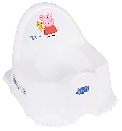 Tega Baby - Orinal infantil, 6 modelos y diferentes sets de orinal + asiento de inodoro + taburete, antideslizante y especialmente seguro ECO Peppa - Color rosa Talla:Solo