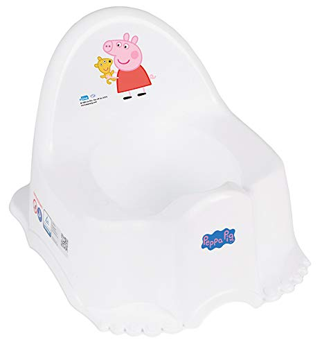 Tega Baby ® - Vasino per bambini, 6 modelli e diversi set di vasino, sedile per WC, sgabello Peppa Pig Pig, antiscivolo e particolarmente sicuro, set: singolo, colore: Rosa
