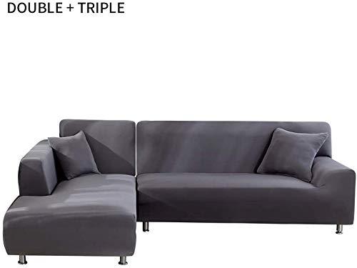 SeachI Sofabezug L Form Sofa Elastische Sofabezug Stretch Sofabezug Sofaüberwürfe für L-Form Sofabezüge im Milbenschutz, Sofabezüg Mehrfarbig