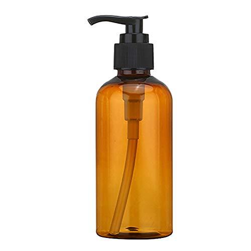 100/150/200ml Lotion Shower Gel Shampooing Rechargeillable Bottle Dispenser Bottle Dispenser Container - Brown/Green/Transparent