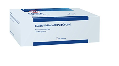 EMSER Inhalationslösung, 100 St. Ampullen