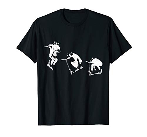 Scooter Stunt Stunts Tretroller Geschenk T-Shirt