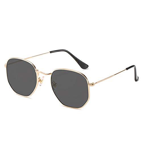 Classic Gradient Aviator Gafas de Sol Ligeras Damas Aviadoras con lentes tintadas gafas de sol Aviator Metal Gafas Unisex adulto Gafas de Sol Piloto Redondas UV400 con Lente Polarizada Espejada