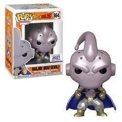 POP! Animation Dragonball Z 864 Majin Buu Evil Metallic