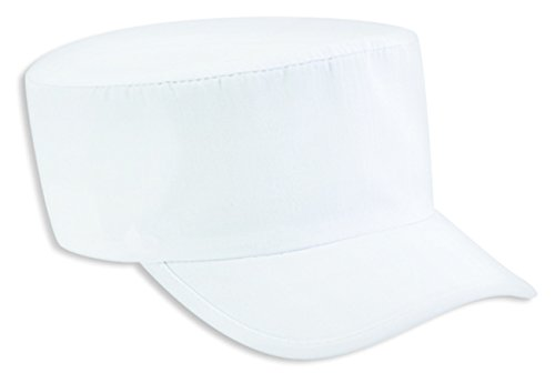 Otto Caps Deluxe Poplin Painter Cap White