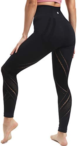 RUNNING GIRL 5 inches High Waist Yoga Leggings Compression Workout Leggings for Women Yoga Pants product image