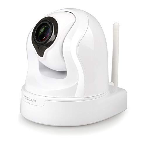 Foscam FI9926P - Cámara IP WiFi Interior motorizada 2MP - Consulta y Control Remoto - Aplicación Smartphone - Zoom x4 - Detección de Movimiento