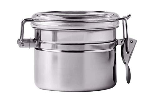 opasd Vorratsbehälter Lagertank, Vierteilige Lagerung Lebensmittel Abgedichteten Behälter Aus Rostfreiem Stahl Tee Dosen Tabak Geschreddert Kaffeebohnen Speichertank