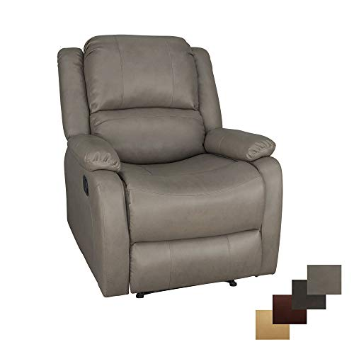 RecPro Charles Collection   30' Zero Wall RV Recliner   Wall Hugger Recliner   RV Living Room (Slideout) Chair   RV Furniture   RV Chair   Putty