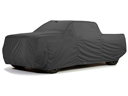 CarsCover Ford F250 F350 F450 Crew Cab 8ft Long Bed Box Truck Car Cover Ironshield Leatherette All Weatherproof 100% Block Sun, Rain, Dust (Crew Cab 8ft Long Bed)