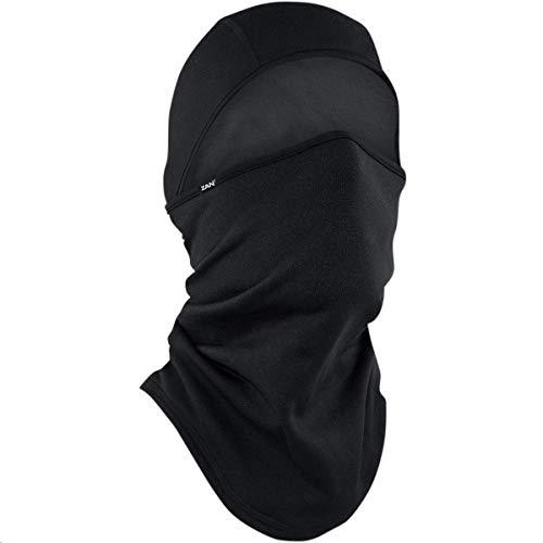 Zan Headgear ZHWB4L114 Convertible Balaclava Black