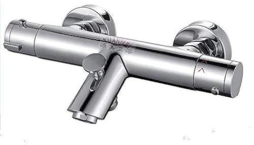 Vanne thermostatique à Chaud d'eau Froide Mélangeur Contrôle de thermorégulation Salle de Bains Valve