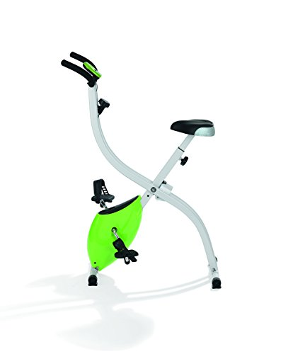 Vitalmaxx 01504 Home-Trainer Fitness Bike |Avec Ordenador de entraînment | Plegable Bicicleta de Interior Fitness