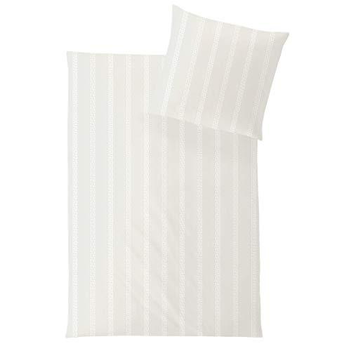 Juego de cama de HEFEL, 155 x 220 cm (1500010 marfil, 80 x 80/155 x 220 cm)