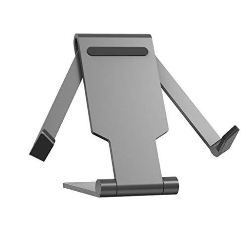 jieGorge Cell Phone Stand Folding Nonslip Adjustable Sturdy Metal Holder Put In Pocket , Mount Holder Sales , for Halloween Day (Black)