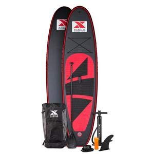 XTERRA Inflatable 10' Stand Up Paddle Board Premium SUP Bundle |...