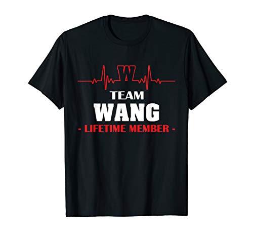 Team WANG lifetime member family youth kid shirt 1kmo