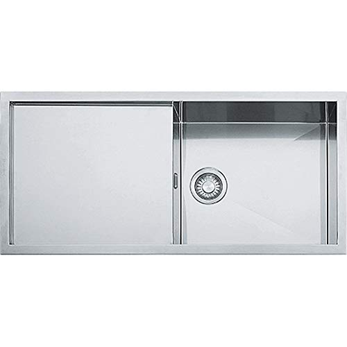 Franke Planar Küchenspüle 1 Becken PPX 111 Edelstahl Seidenglanz,