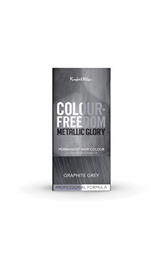 Knight & Wilson Colour Freedom Metallic Glory Graphite Grey Permanent Hair...