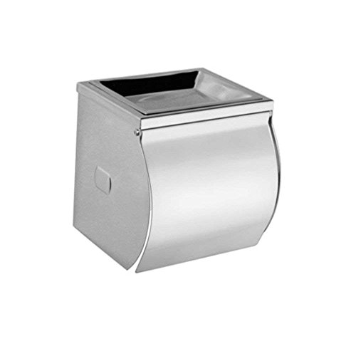 YAeele Papel higiénico baño Estante de Acero Inoxidable, cenicero, Caja de pañuelos, Papel higiénico baño de Rack (Color: -, Tamaño: -)