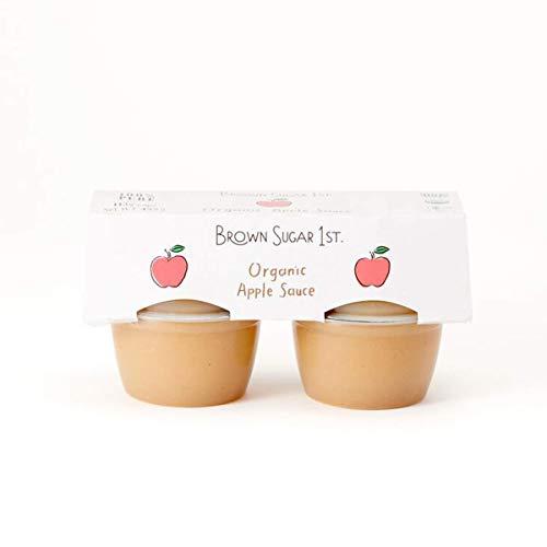 オーガニック アップルソース カップタイプ 4個入り (有機 化学調味料無添加 砂糖不使用 100%天然 ブラウンシュガーファースト)