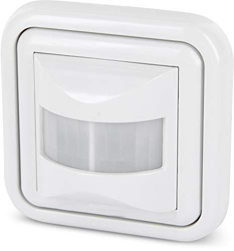 Unterputz IR Bewegungsmelder 160° - LED geeignet - 2/3-Draht - LED geeignet - für UP-Dosen Ø 60mm und Hohlwanddose Ø 68mm