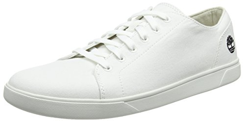 Timberland Herren Bayham Canvas Oxfords, Weiß (Bright White 143), 43 EU