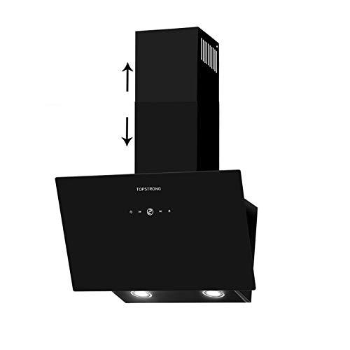 TopStrong Cappa Aspirante da cucina 60cm Controllo del tocco 700 m³/h Cappa Cucina in Acciaio Inox,Montaggio a Parete,Illuminazione LED
