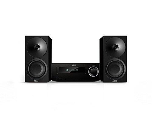 AKAI - AMBT 67K - Micro Chaine - Tuner FM Digital - CD -MP3 -Bluetooth - NFC - 80 W - Noir