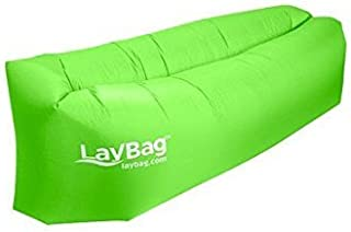Durable LayBag Inflatable Air Lounge (Green) [並行輸入品]