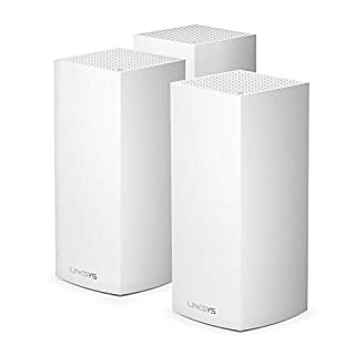 Linksys Velop WiFi 6 Tri-Band Whole Home Mesh WiFi System Bundle (4x Faster Speed for 50+ devices, 3 Pack-Bundle, White) (B08957D8CR) | Amazon price tracker / tracking, Amazon price history charts, Amazon price watches, Amazon price drop alerts