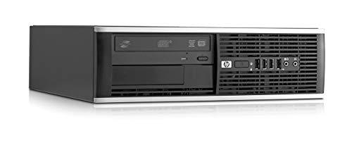 HP Compaq Pro 6300 SFF 3.2GHz i5-3470 SFF Negro PC -Ordenador de sobremesa Intel Core i5, 8GB RAM , 500 GB HDD, DVD ,Windows 7 Professional)(Reacondicionado)