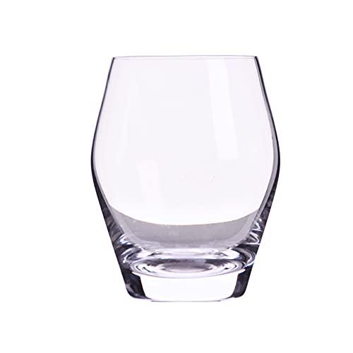 ZNLHJ Moderno y exquisito vaso de cristal prismático americano, vaso de leche...