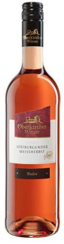 Oberkircher Winzer Spätburgunder Weißherbst Qualitätswein Halbtrocken (1 x 0.75l)