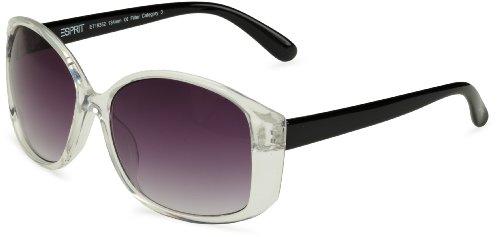 ESPRIT Eyewear Damen Sonnenbrille, 19352, Gr. one size, Transparent (557 crystal)