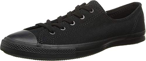 Top 10 best selling list for converse all star dainty black flat shoes