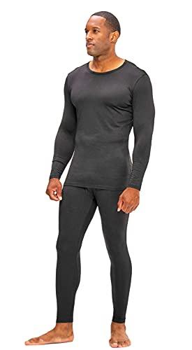 DEVOPS Men's Thermal Underwear Long Johns Set with Fleece Lined...