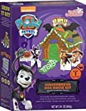 Paw Patrol Halloween Gingerbread Pup House - Crafty Cooking Kits - 12.88oz (365g) - Pre-baked Gingerbread Cookies Ready to Decorate - Includes Icing and Decorative Candies -