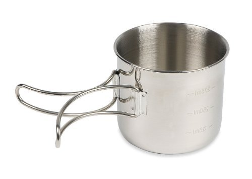 Tatonka camping tableware Handle Mug stainless steel by Tatonka