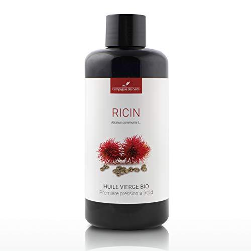 Ricin - Huile Végétale Vierge BIO - Flacon en verre - Première pression à froid - 200mL