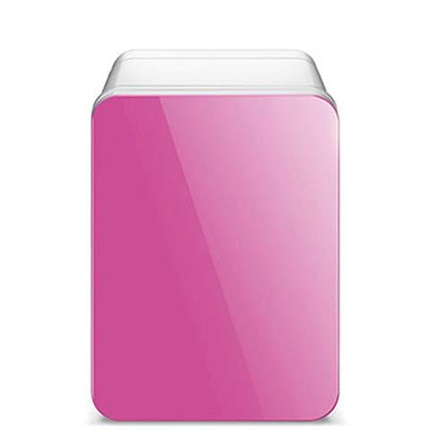 Mini Nevera XYBB Coche Mini refrigerador Nevera Auto Congelador portátil Refrigeración Hielo Hogar Menor ruido Puerta única 23 * 18 * 28 cm Rosa
