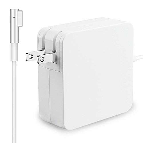 "TrainPro 60W MagSafe 2 Replacement 60W Mac Power Cable Adapter Charger with Extra Long 5 ft. Cord. Compatible with Apple MacBook Air and MacBook Pro Laptops with ""L-tip"" Cord Connector. Guaranteed!"