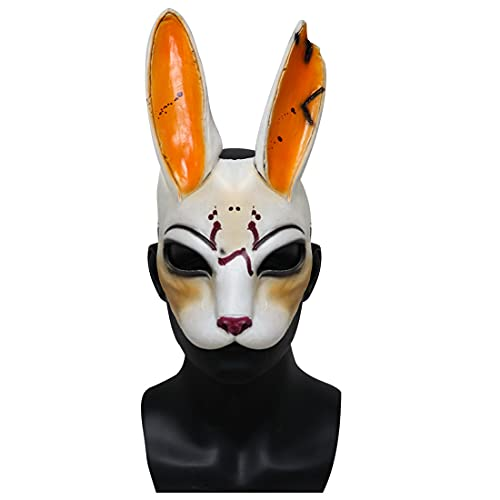 Cafele Daylight Butcher Mask Legion Frank Mask Replica Cosplay Halloween Costume for Adult