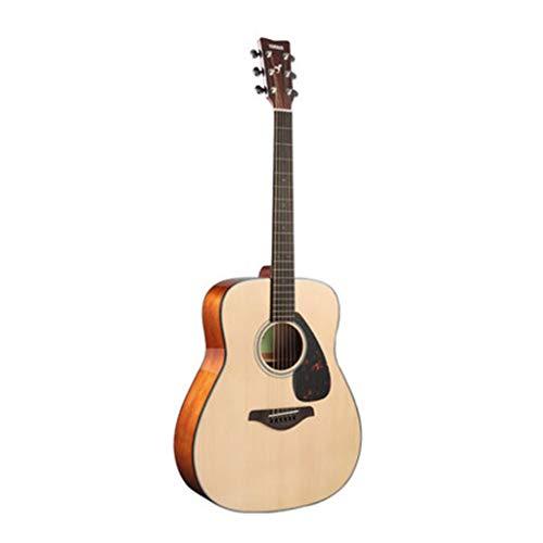 Musikinstrumente Gitarre E-Gitarre Yamaha Fg800 Folk Brett Electric Box Anfänger Schüler Männer und Frauen 41 Zoll Gitarren (Color : Beige, Size : 130 * 40 * 12cm)