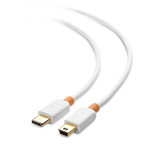 Cable Matters USB C to Mini USB Cable (Mini USB to USB-C Cable) 6.6 Feet in White
